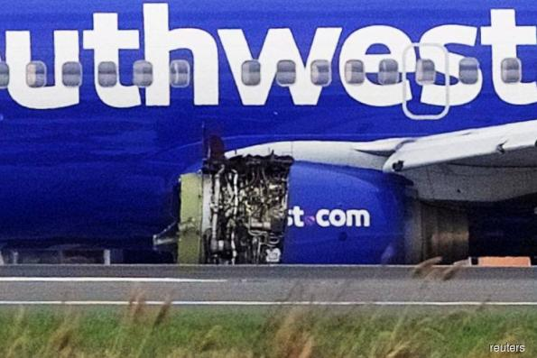 US FAA orders engine inspections after Southwest explosion