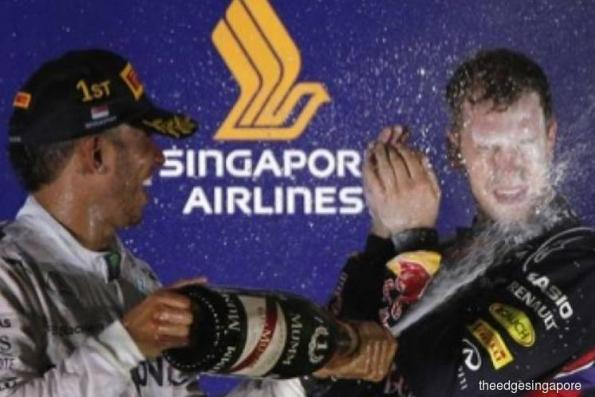 Singapore Airlines extends title sponsorship of F1 Singapore Grand Prix to 2019