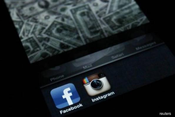 Facebook Inc's Instagram hit by outage in several cities