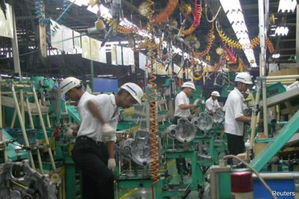 Malaysia's Sept factory output up 2.3 pct y/y, just above forecast