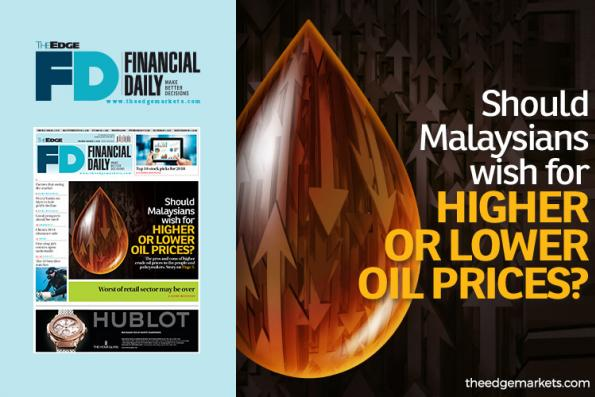 Should Malaysians wish for higher or lower oil prices?