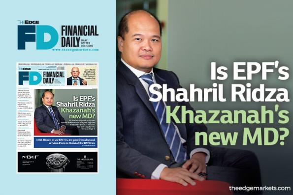Shahril将担任国库控股董事经理?