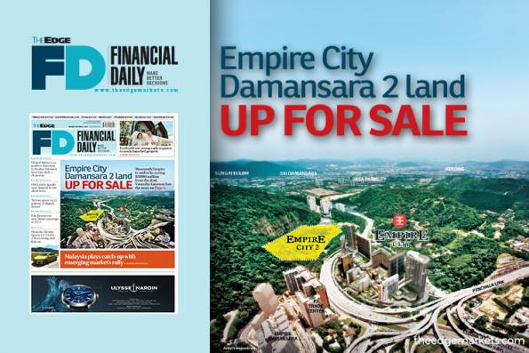 Empire City Damansara 2 land up for sale