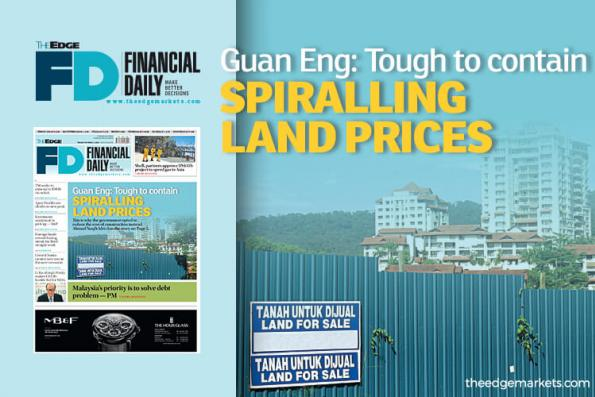 Guan Eng: Tough to contain spiralling land prices