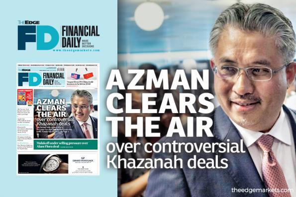 Azman clears the air over controversial deals
