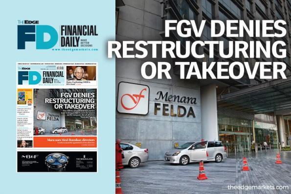 FGV否认重组或收购