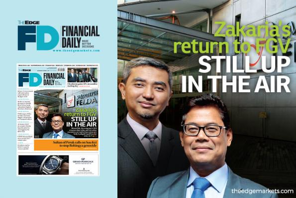 Zakaria's return to FGV still up in the air