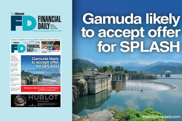 Gamuda likely to accept offer for SPLASH