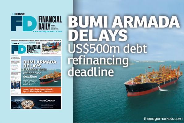 Bumi Armada delays US$500m debt refinancing deadline