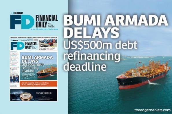 Bumi Armada延迟5亿美元债务再融资期限