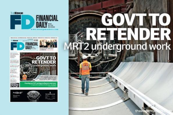 政府为MRT2地下工程重新招标