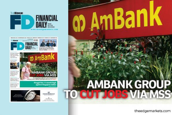 AmBank Group to cut jobs via MSS