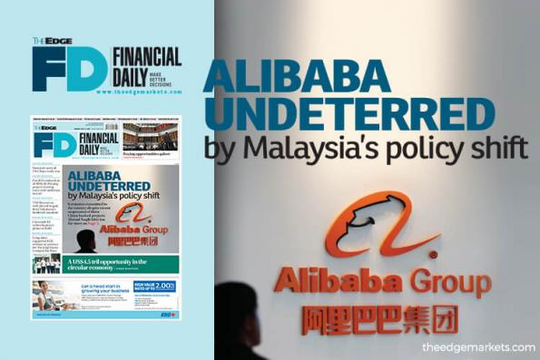 Alibaba undeterred by Malaysia's policy shift
