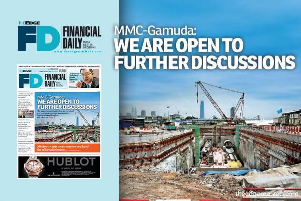 MMC-Gamuda:我们愿意进一步磋商