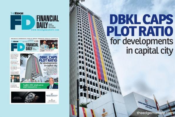 DBKL限制首都发展项目的地积比率