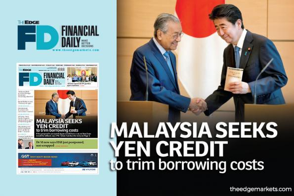 Malaysia seeks yen credit to trim debt costs
