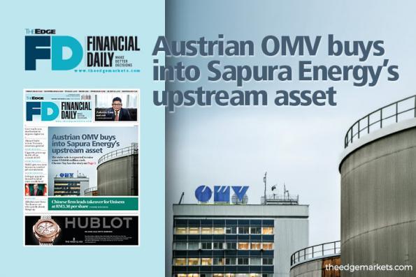 Austrian OMV buys into Sapura Energy's upstream asset