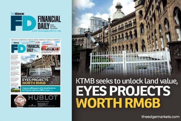 KTMB拟释放巴生谷土地价值
