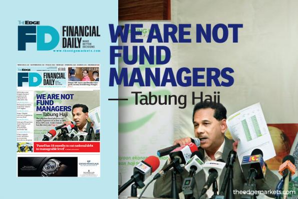 Tabung Haji: We are not fund managers