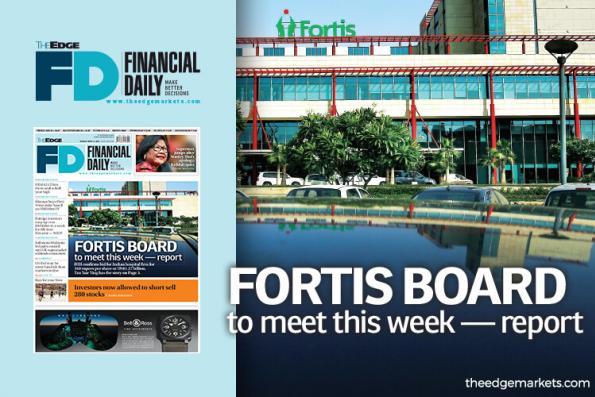 Fortis董事部本周会晤