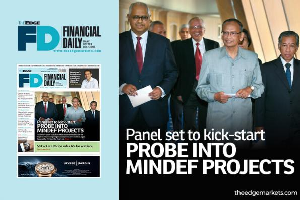 Panel to kick-start probe into Mindef projects