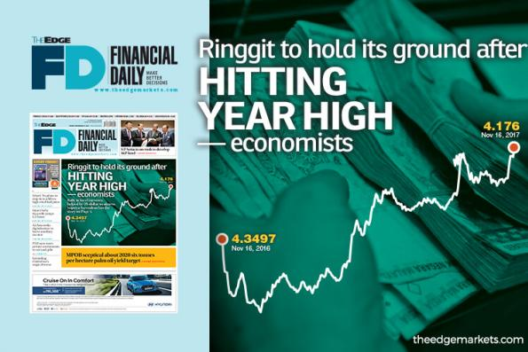 Ringgit to hold its ground after hitting year high