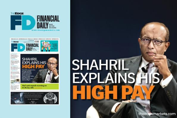 Shahril explains his high pay