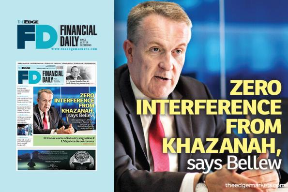 Zero interference from Khazanah, says Bellew