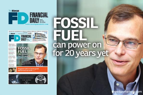 'Fossil fuel can power on for 20 years yet'