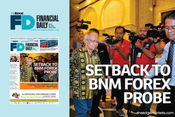 Setback to BNM forex probe