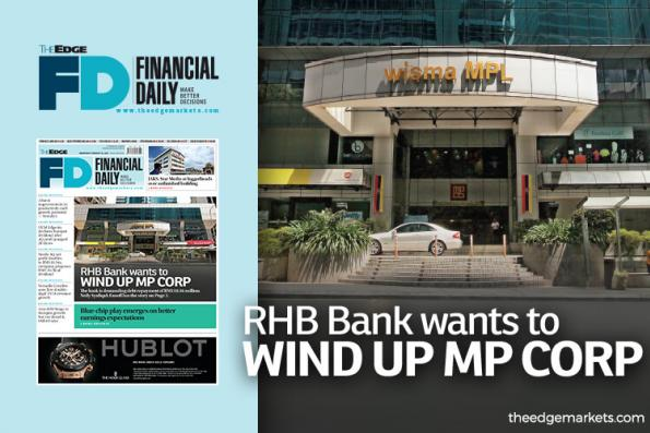 RHB Bank wants to wind up MP Corp