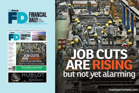 Job cuts are rising but not yet alarming