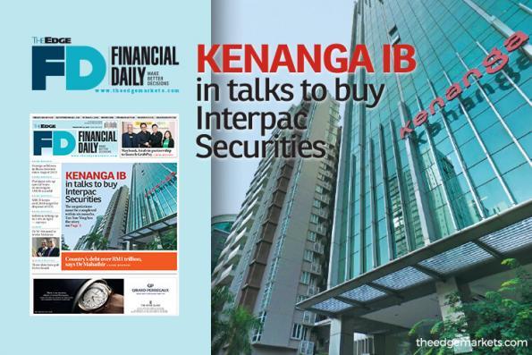 Kenanga IB in talks to buy Interpac Securities