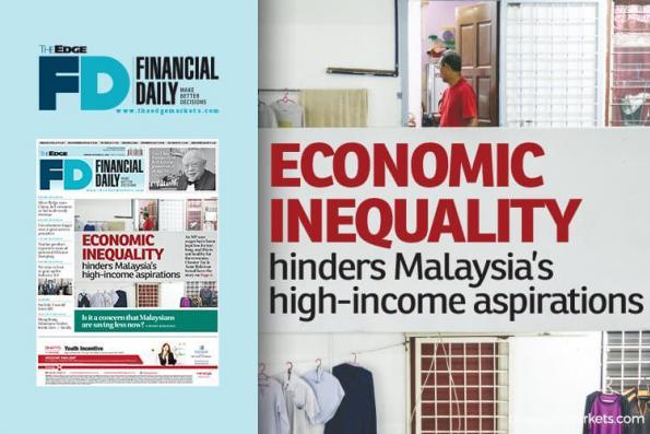 经济不平等阻碍大马的高收入愿景