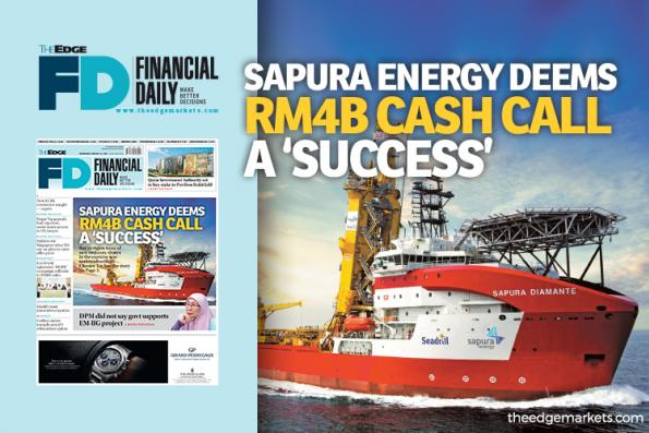Sapura Energy deems RM4b cash call a 'success'