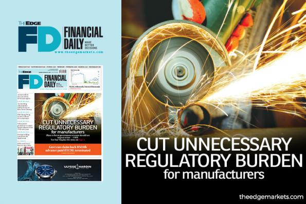 Cut unnecessary regulatory burden for manufacturers