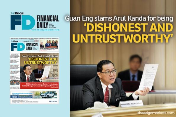 Guan Eng slams Arul Kanda for being 'dishonest and untrustworthy'