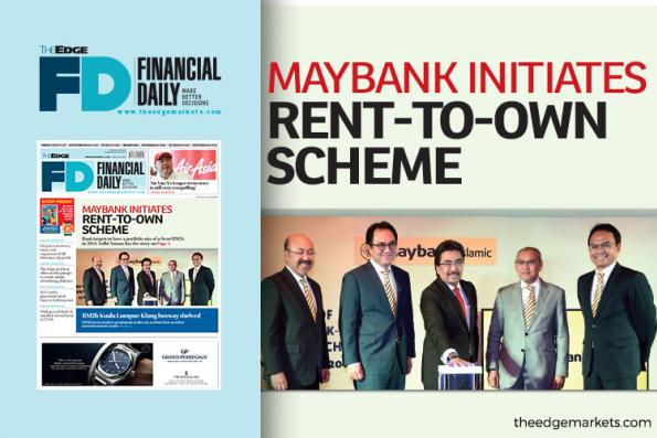 Maybank initiates rent-to-own scheme