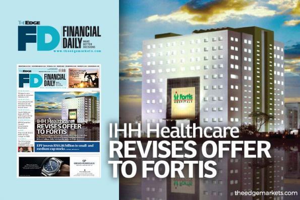 IHH修订对Fortis的献议