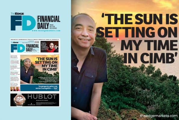 'The sun is setting on my time in CIMB'