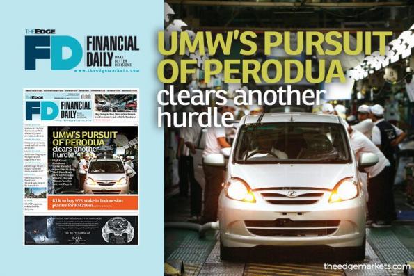 合顺收购Perodua再除障碍