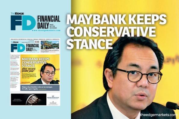 盈利创新高 马银行持保守立场