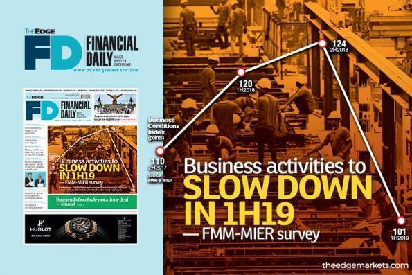 FMM-MIER调查:2019年上半年商业活动将放缓