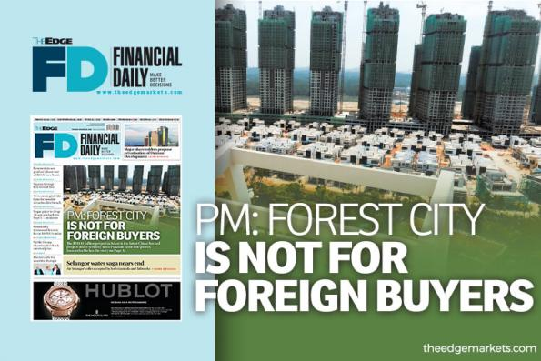 Forest City is not for foreign buyers — PM