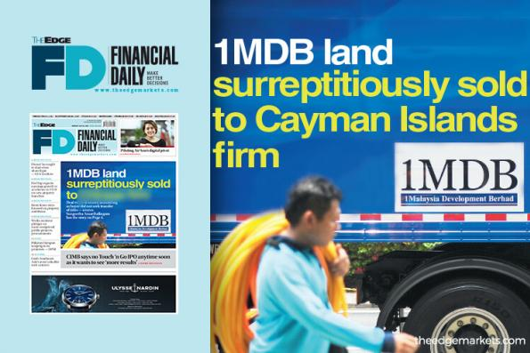1MDB land surreptitiously sold to Cayman Islands firm