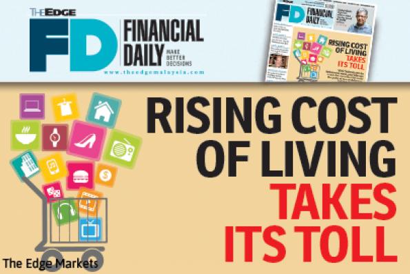 生活成本上升影响国人生活水平