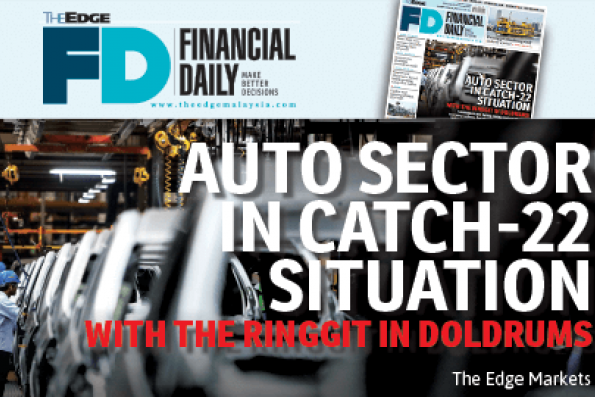 Auto sector in Catch 22 with ringgit in doldrums