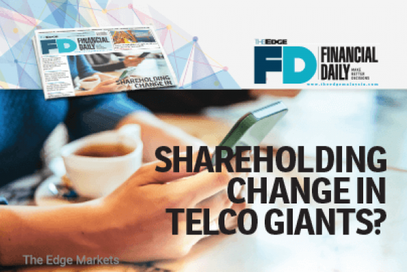 Shareholding change in telco giants?