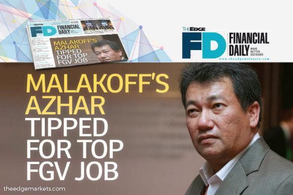 Malakoff's Azhar tipped for top FGV job