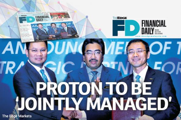 Proton to be 'jointly managed'